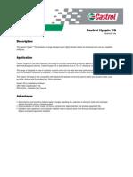 Castrol Hyspin VG Hydraulic oils