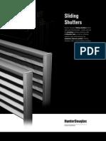 Brochure ShuttersSliding En