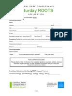 Saturday Roots Application