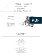 project 3b - briefing  booklet - a4