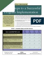 cwp implementation planning