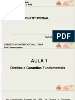 Direitos e Garantias Fundamentais -