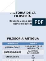 Historia de La Filosofía Final - Ortega 2013