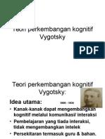 HEBAT!! Teori Perkembangan Kognitif Vygotsky