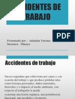 Accidentes de Trabajo y Tipos de Accidentes