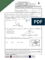 Tercer Examen Parcial Área Matematica Fecha 16-06-2009 c