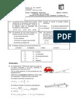 Solución Tercer Examen Parcial Área Física Fecha 10.12.2008