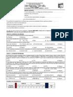 Segundo Examen Parcial Área Química Fecha 31-10-2009 b