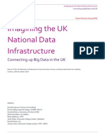 Imagining the UK National Data Infrastructure - Recommendations