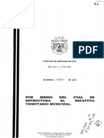 Acuerdo 321-11 Industria y Comercio Cali