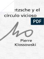 Klossowski Pierre Nietzsche y El Circulo Vicioso Spanish