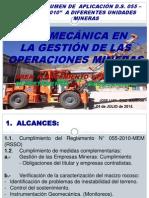 Geomecanica en Gestion de Las Operaciones Mineras Casapalca