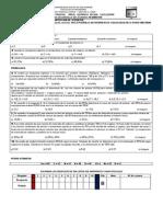 Tercer Examen Parcial Área Química Fecha 11-12-2009 d