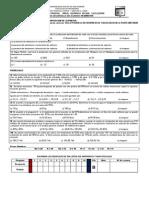 Tercer Examen Parcial Área Química Fecha 11-12-2009 b
