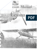 Operation Manual for Cessna 120 140
