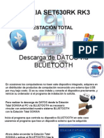 Descarga de Datos Vía Bluetooth