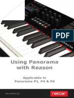 Panorama Reason Installation & User Guide