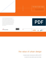 The Value of Urban Design