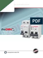 Catalogo Interruptores Termomagneticos y Diferenciales