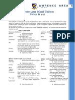 Uniform Policy Yr 7-12