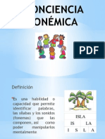 Conciencia Fonologica 14 Ene 15 Pptx