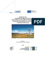 Survey of Agrometeorological Practices and Applications in Europe Regardingclimate Change Impacts - Cost 734