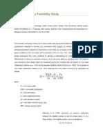 Rock Mechanics Feasibility Study
