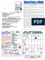 UCP April 2015 Newsletter