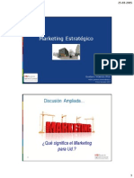 Marketing Estratégico, principios