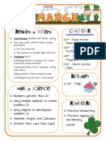chalfant's march 23 kindergarten newsletter