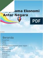 kerja sama ekonomi antar negara