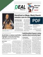 The Real Deal Press • April 2015 • Vol 2 # 1