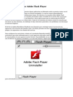 Instalar Y Actualizar Adobe Flash Player