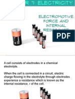 Emf and Internal Resistance physics form 5