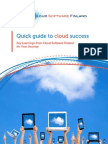 Ericsson - Quick Guide to Cloud Success