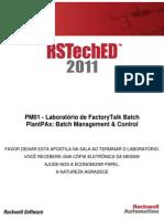 8 - PlantPAx Batch Management Control PM01