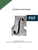 String Orchestra Curriculum