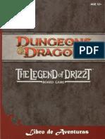 Libro aventuras Legend of Drizzt