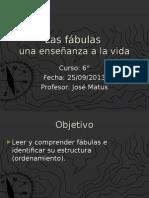 Fábulas 6°