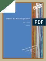 Analisis Del Discurso Univesidad Del Cuyo 2014