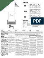 Ibanez ACA10 Amp Manual - Copy