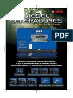 Diesel Generators Leaflet (Spanish)