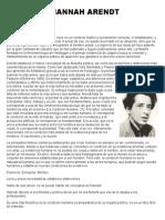 Coloquio Hannah Arendt