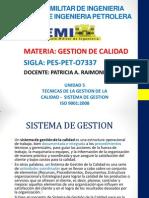 Unidad 4 Sistema de Gestion de Calidad 08-11-13