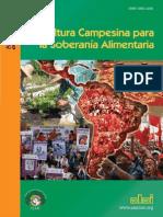 Revista ALAI - Agricultura Campesina Para La Soberania Alimentaria