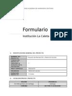 Formulario de Proyecto Psicosocial (FINAL)