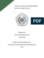 Laporan Pendahuluan Post Ops Debridement Dengan Combustio API.cover