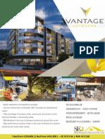 "Brisbane Inner North apartment-Lutwyche ""Vantage"" brochure"