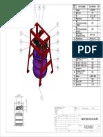 Mesin Pengaduk Sampo Assembly