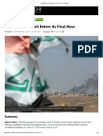 The Battle for Tikrit Enters Its Final Hour
